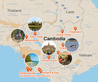 Cambodia tourist attraction